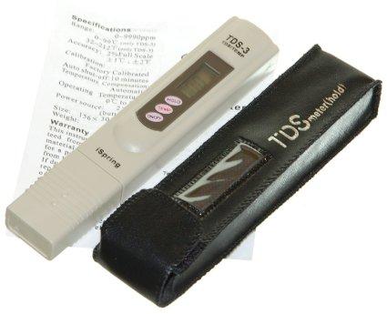 เครื่องวัดค่า TDS ใช้ตรวจสอบคุณภาพน้ำ