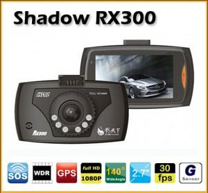 แนะนำกล้องติดรถยนต์ Shadow Recorder รุ่น RX300