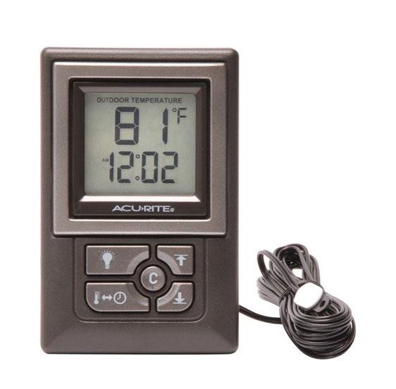 เครื่องวัดอุณหภูมิและความชื้นแบบดิจิตอล--AcuRite-00891W3