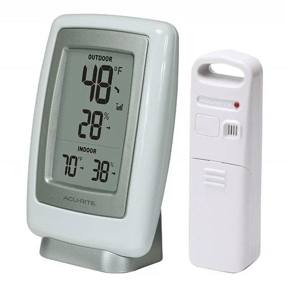 เครื่องวัดอุณหภูมิและความชื้นแบบดิจิตอล--CNY1050