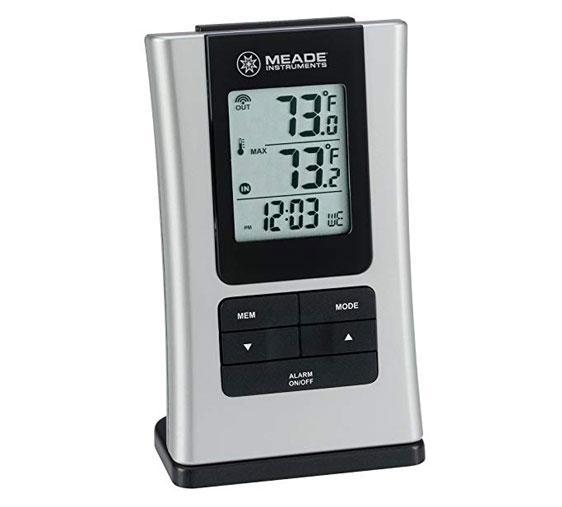 เครื่องวัดอุณหภูมิและความชื้นแบบดิจิตอล-Meade-Instruments-TE109NL-M