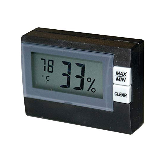 เครื่องวัดอุณหภูมิและความชื้นแบบดิจิตอล--P3-P0250