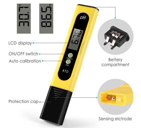 เครื่องวัดอุณหภูมิและความชื้นแบบดิจิตอล-Wellcows